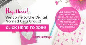 Facebook Digital Nomad Girls