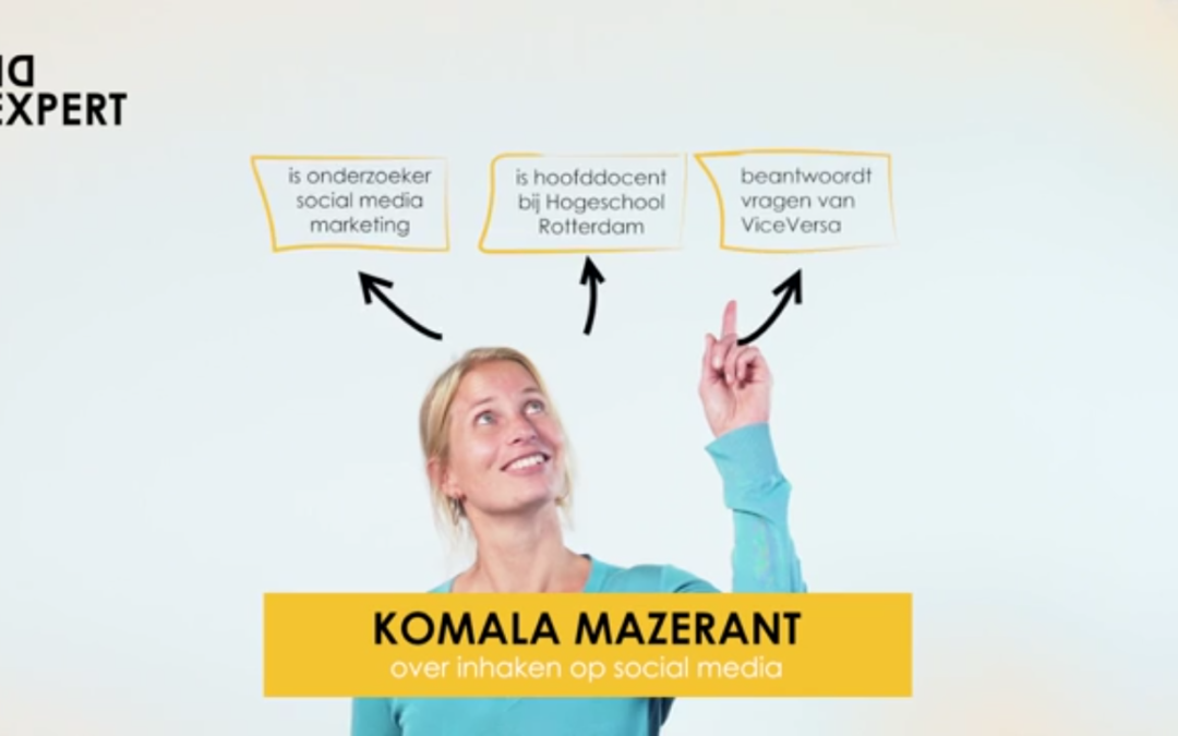Komala Mazerant – de expert – over inhaken