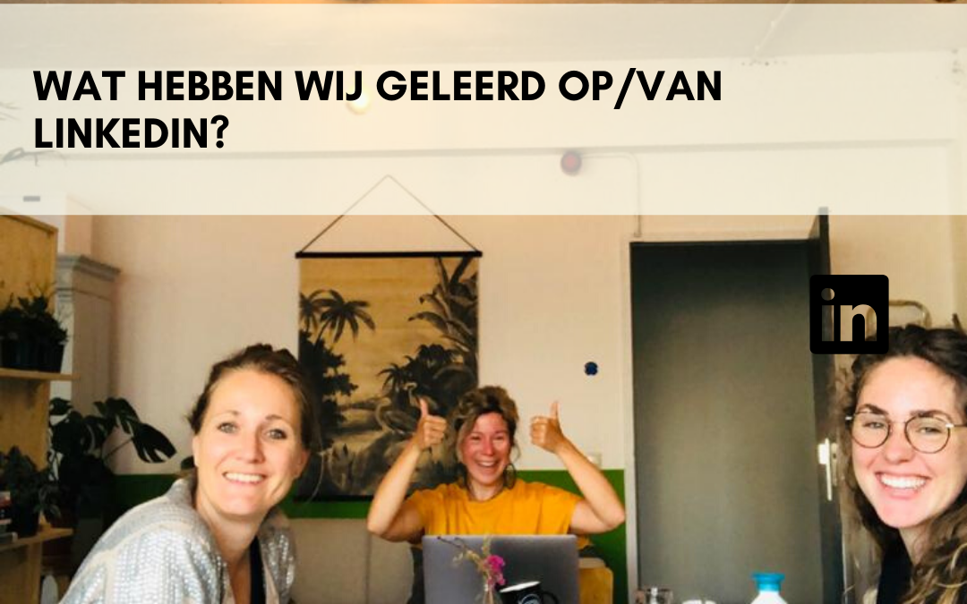 LinkedIn Robin van Leeuwen, Anke van der Sluis, Petra Drogt