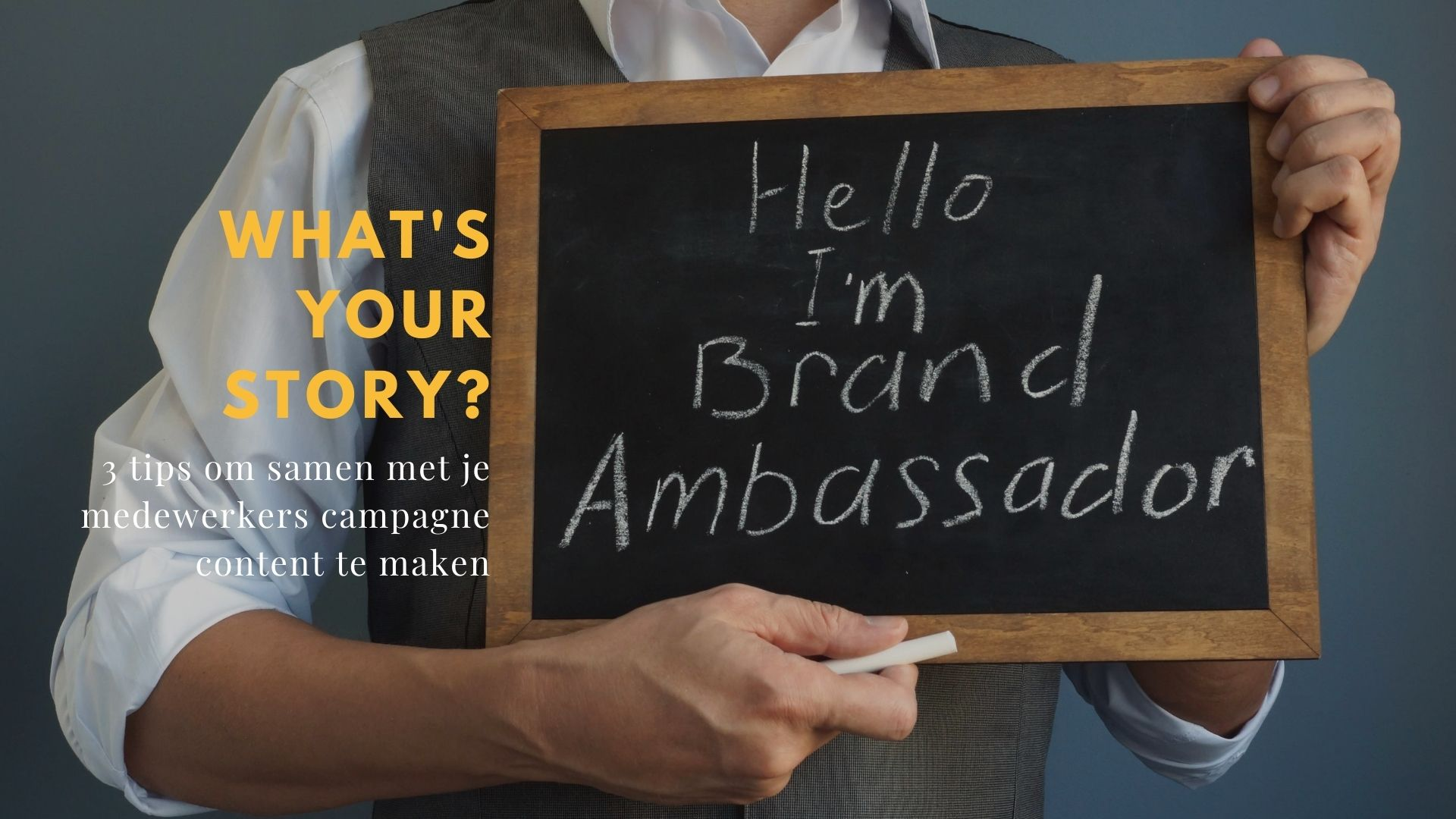 Story First employee advocacy